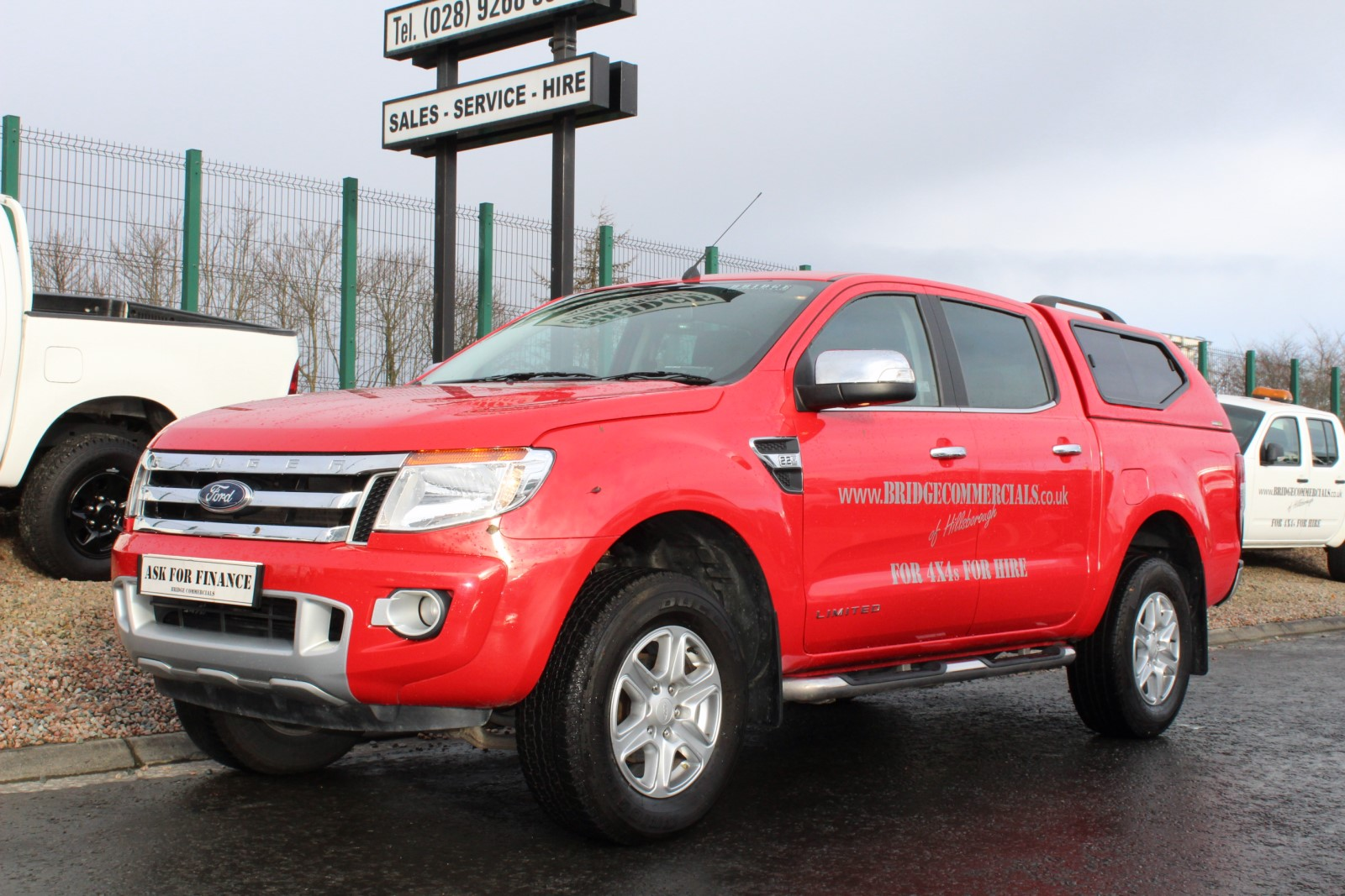 Ford Ranger Limited Double Cab With Ridgeback Top